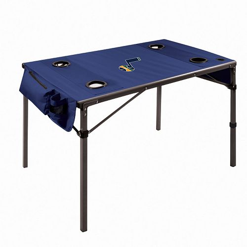 Picnic Time Utah Jazz Folding Travel Table