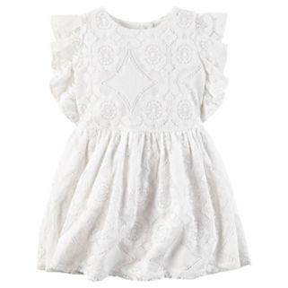 Toddler Girl Carter's Geo Lace Dress