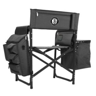 Picnic Time Brooklyn Nets Fusion Chair