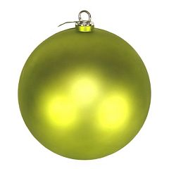 Shatterproof Matte Ball Christmas Ornament