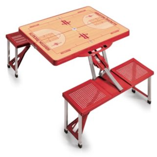 Picnic Time Houston Rockets Portable Folding Picnic Table