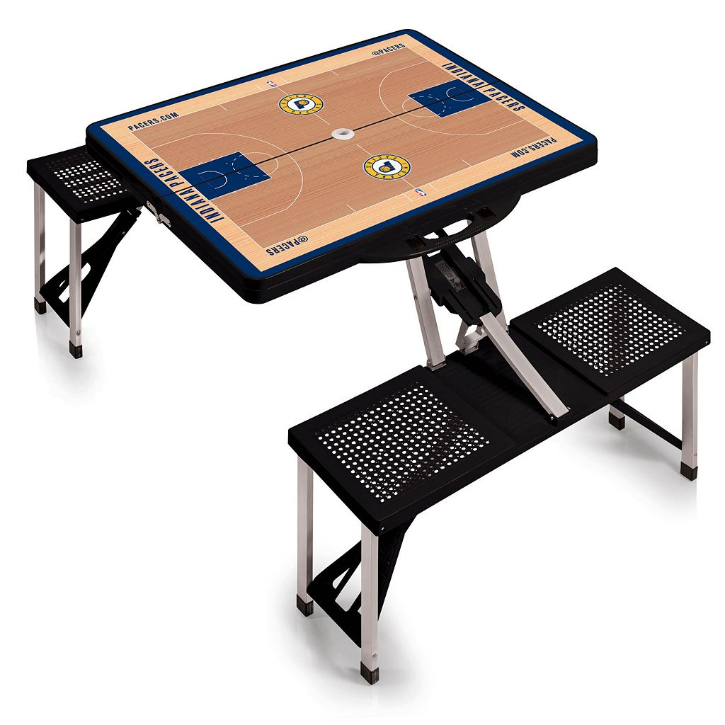 Picnic Time Indiana Pacers Portable Folding Picnic Table