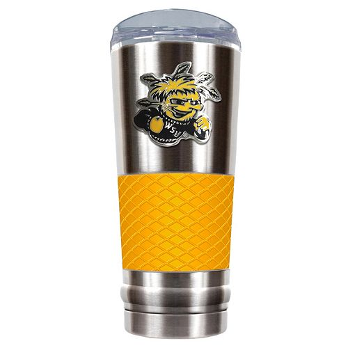 Wichita State Shockers 24-Ounce Draft Stainless Steel Tumbler