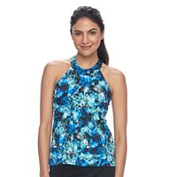 Women's A Shore Fit Hip Minimizer High-Neck Tankini Top