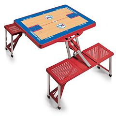 Picnic Time Philadelphia 76ers Portable Folding Picnic Table