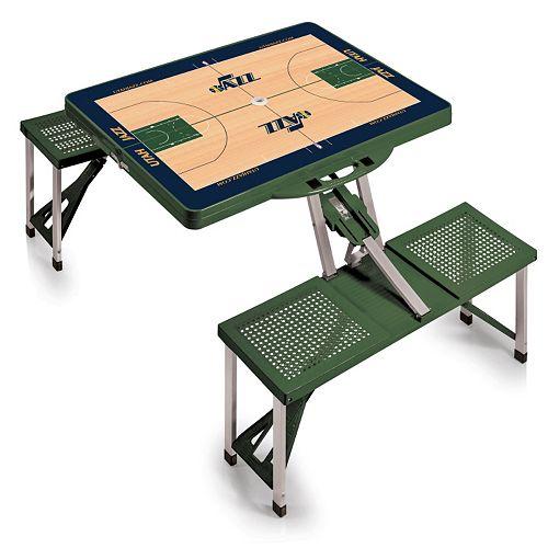 Picnic Time Utah Jazz Portable Folding Picnic Table