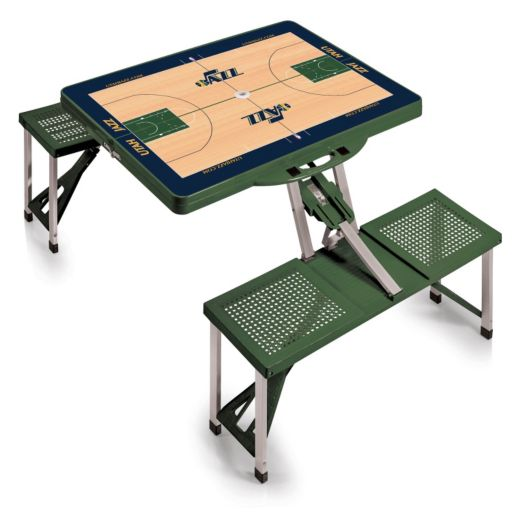Picnic Time Utah Jazz Portable Folding Picnic Table