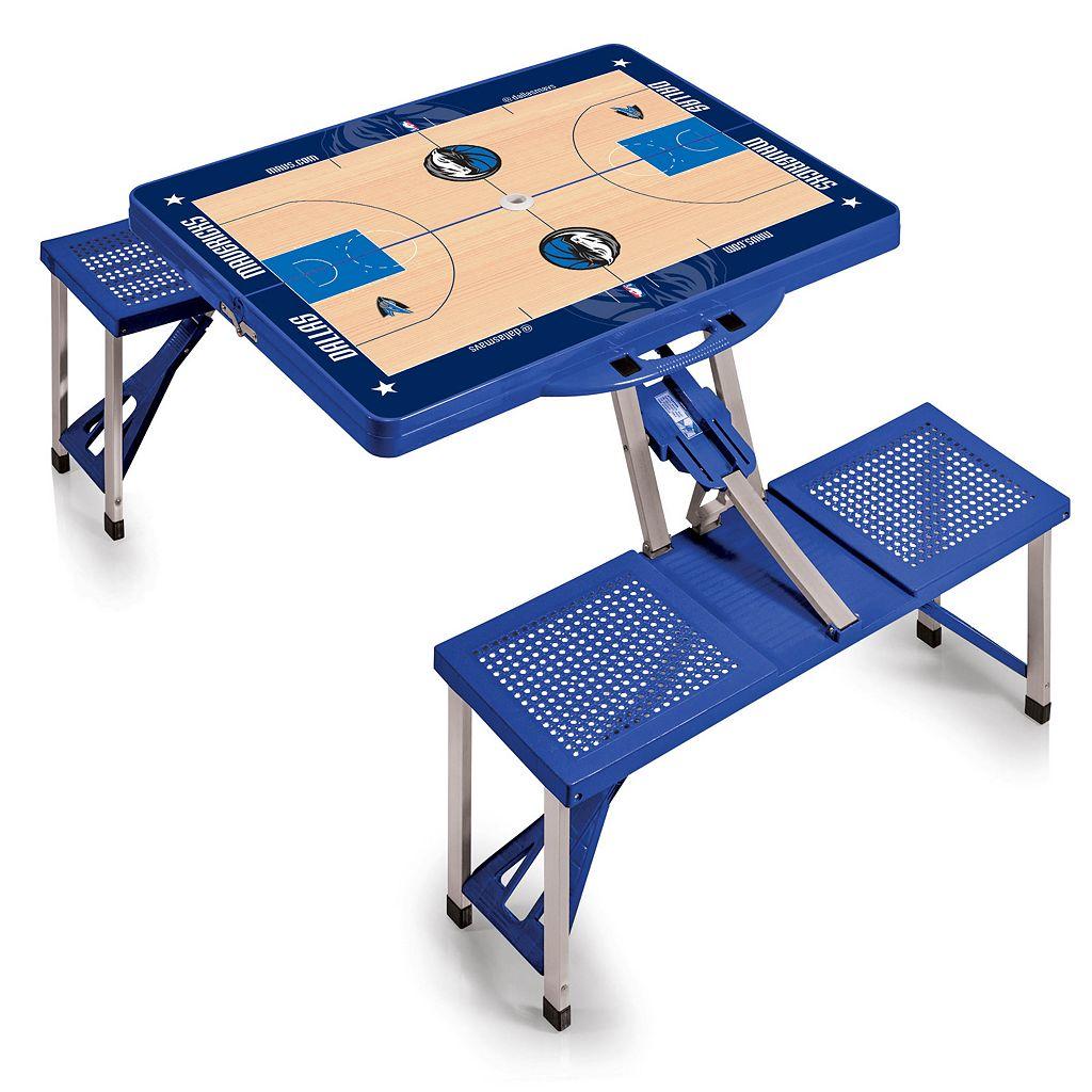 Picnic Time Dallas Mavericks Portable Folding Picnic Table
