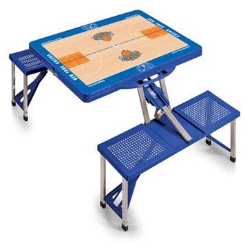 Picnic Time New York Knicks Portable Folding Picnic Table