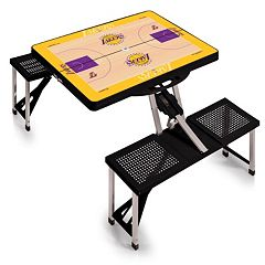 Picnic Time Los Angeles Lakers Portable Folding Picnic Table
