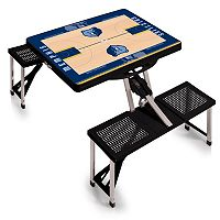 Picnic Time Memphis Grizzlies Portable Folding Picnic Table
