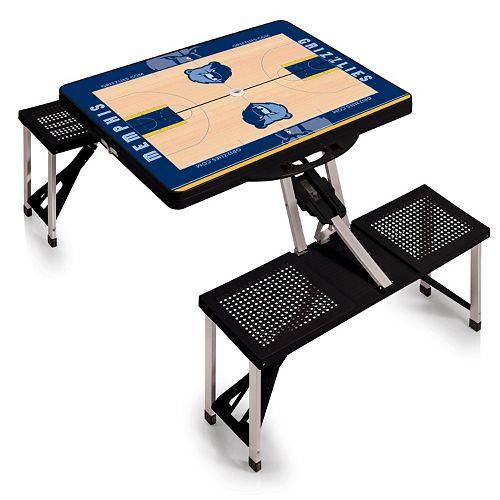 Picnic Time Memphis Grizzlies Portable Folding Picnic Table