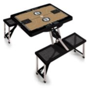 Picnic Time Brooklyn Nets Portable Folding Picnic Table