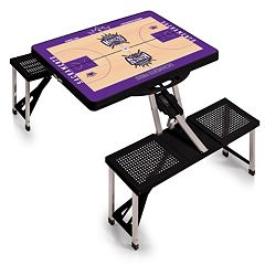 Picnic Time Sacramento Kings Portable Folding Picnic Table