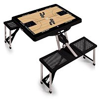 Picnic Time San Antonio Spurs Portable Folding Picnic Table