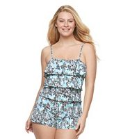 Women's A Shore Fit Hip Minimizer Swim Romper