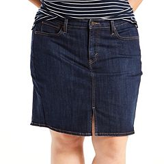 Plus Size Levi's Icon Jean Skirt