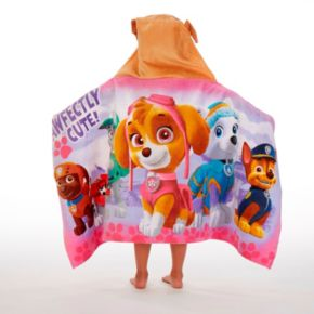 Nickelodeon Paw Patrol Pawfectly Cute Hooded Towel Wrap
