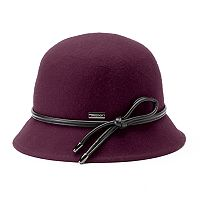 Betmar Christina Loop Trim Felt Cloche Hat
