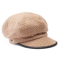 Women's Betmar Caron Patterned Cadet Hat