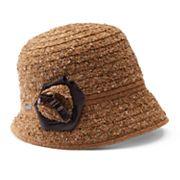 Women's Betmar Willow Floral Cloche Hat