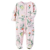 Baby Girl Carter's Floral Sleep & Play