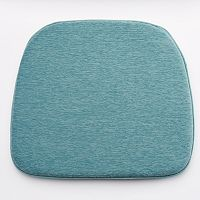 Food Network™ Aqua Chenille Chair Pad