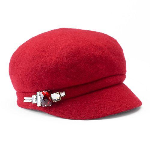 Women's Betmar Rhinestone Cadet Hat