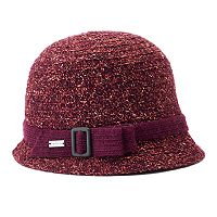Women's Betmar Maya Buckle Knit Cloche Hat