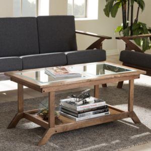 Baxton Studio Cayla Mid-Century Modern Coffee Table