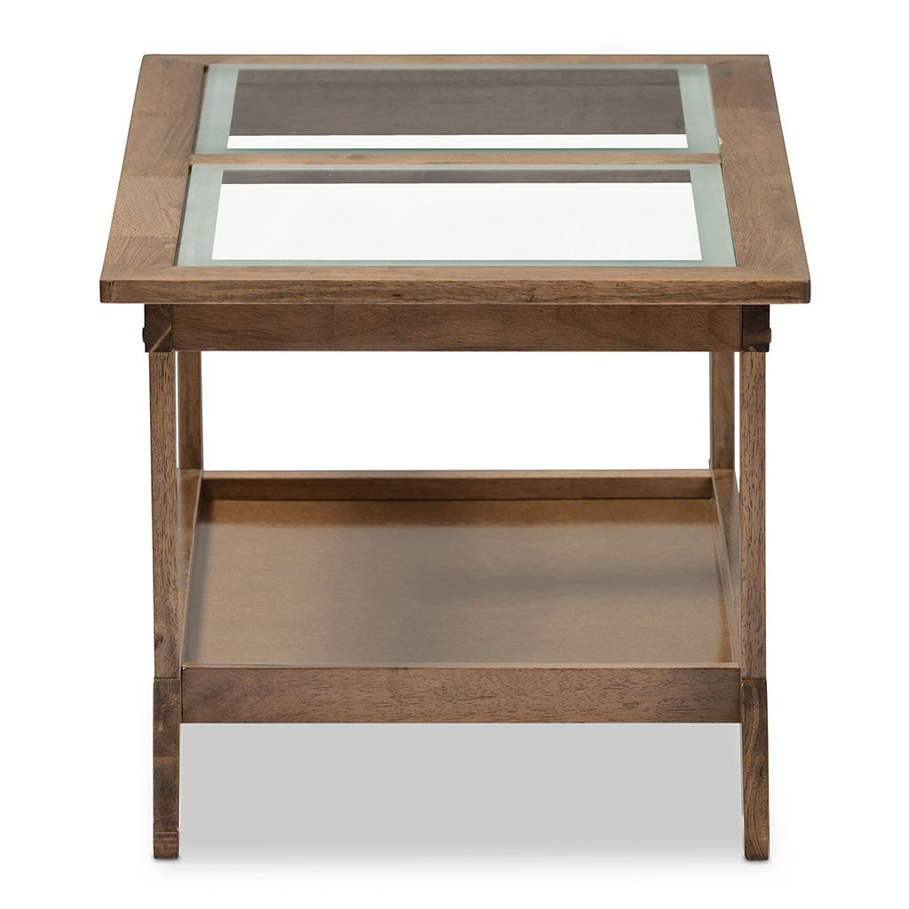 Baxton Studio Cayla Mid-Century Modern Coffee Table