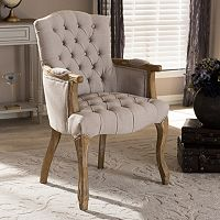 Baxton Studio Clemence Arm Chair