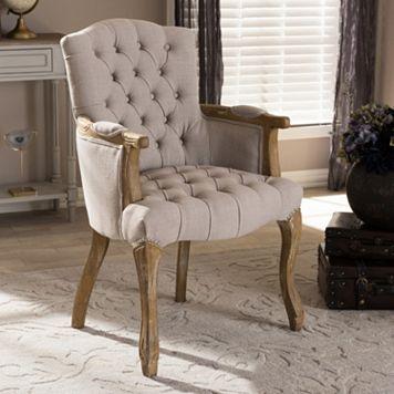 Baxton Studio Clemence Arm Chair