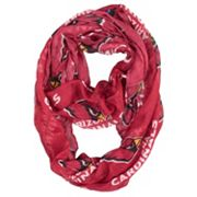 Arizona Cardinals Sheer Infinity Scarf
