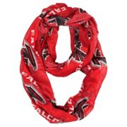Atlanta Falcons Sheer Infinity Scarf