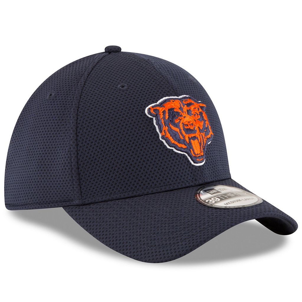 Adult New Era Chicago Bears 39THIRTY Sideline Tech Fitted Cap