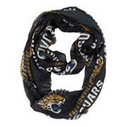Jacksonville Jaguars Sheer Infinity Scarf