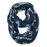 New England Patriots Sheer Infinity Scarf