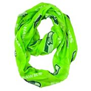 Seattle Seahawks Sheer Infinity Scarf