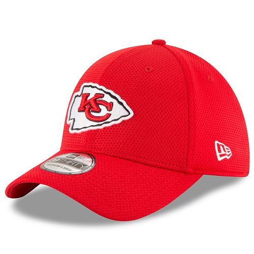 039f2947 Adult New Era Kansas City Chiefs 39THIRTY Sideline Tech Fitted Cap