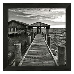 Timeless Frames Big White Boathouse Framed Wall Art