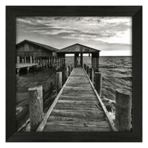 Timeless Frames Big White Boathouse Framed Wall Art