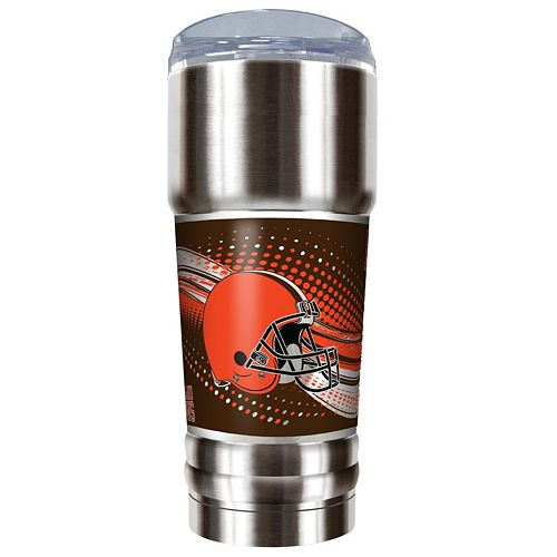 Cleveland Browns 32-Ounce Pro Stainless Steel Tumbler