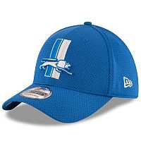 Adult New Era Detroit Lions 39THIRTY Sideline Tech Fitted Cap
