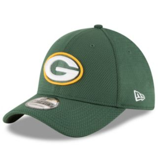 Adult New Era Green Bay Packers 39THIRTY Sideline Tech Fitted Cap