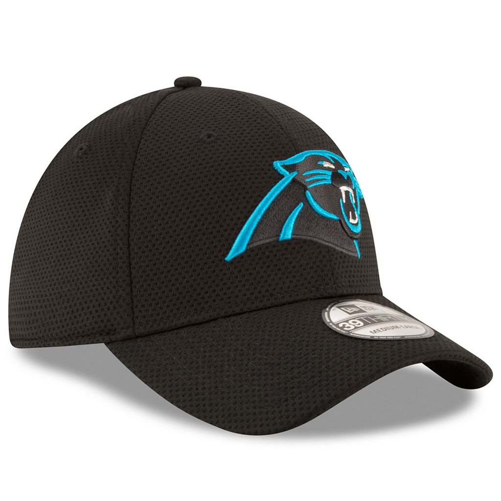 Adult New Era Carolina Panthers 39THIRTY Sideline Tech Fitted Cap
