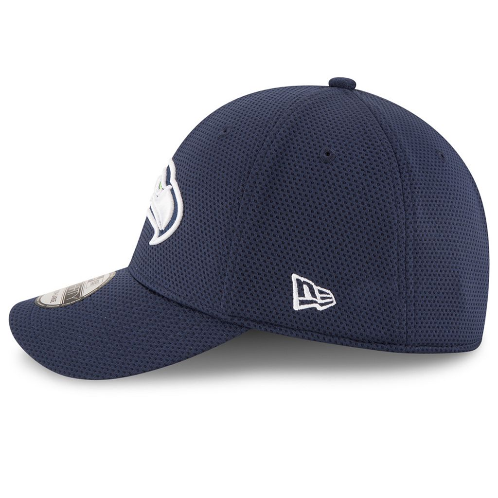 Adult New Era Seattle Seahawks 39THIRTY Sideline Tech Fitted Cap