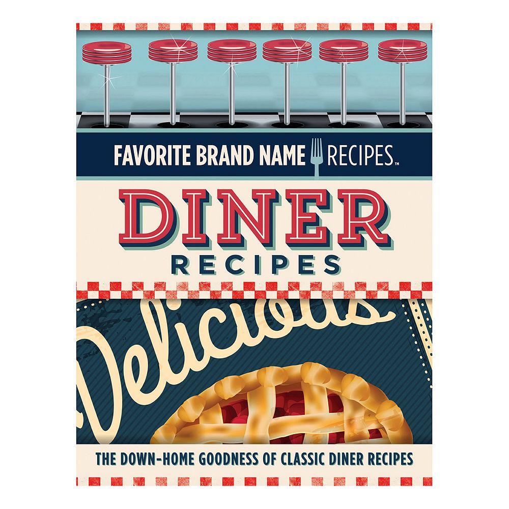 Publications International, Ltd  Retro Diner Recipes Cookbook