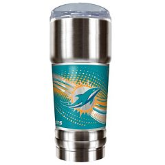 Miami Dolphins 32-Ounce Pro Stainless Steel Tumbler