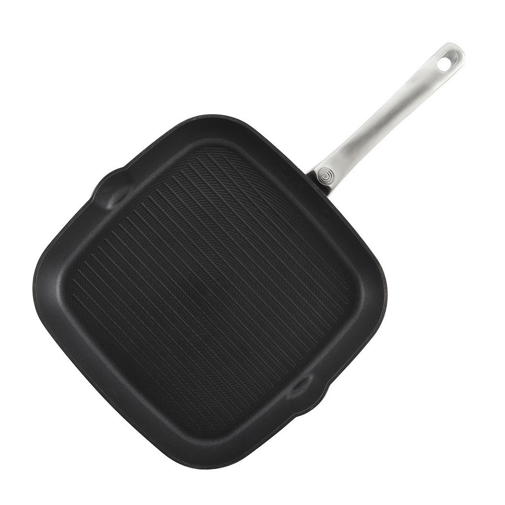 Circulon Ultimum 11-in. Forged Aluminum Nonstick Square Grill Pan
